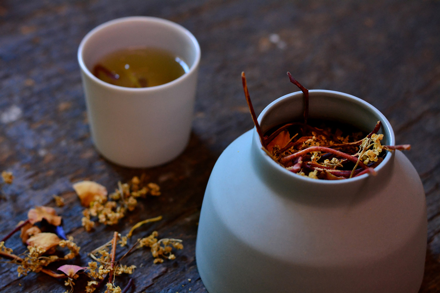 Dose für Tee oder Gewürze