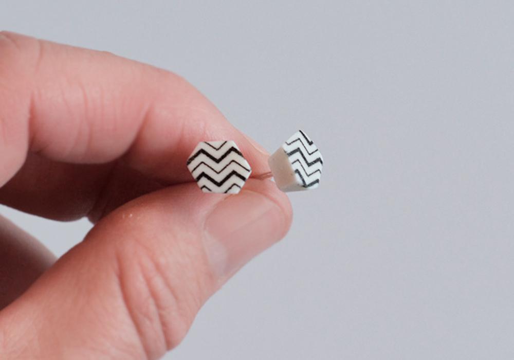 cut out – Schmuck aus Porzellan