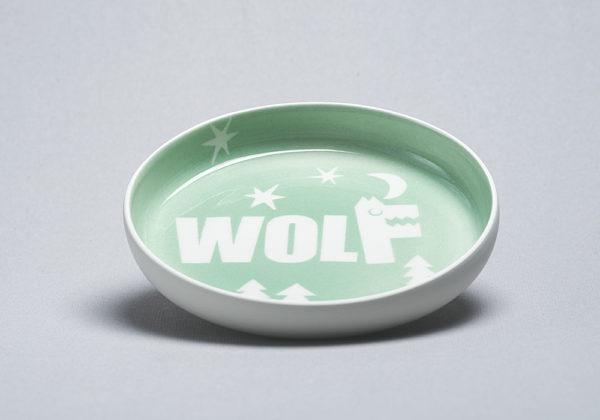 Kinderteller Wolf